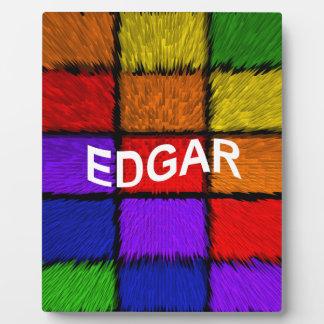 EDGAR FOTOPLATTE