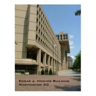 Edgar J. Hoover Building Postkarte