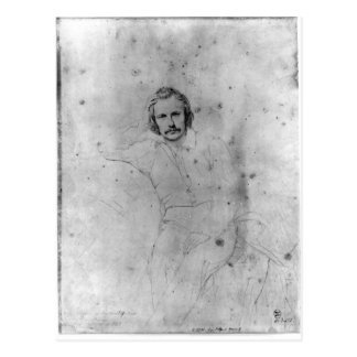 Edgar Quinet, 1833 Postkarte