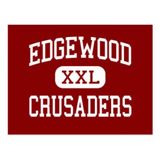 Edgewood - Kreuzfahrer - hoch - Madison Wisconsin Postkarte