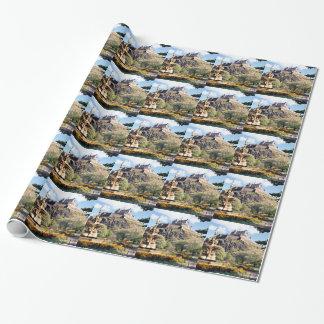 Edinburgh-Schloss Geschenkpapier