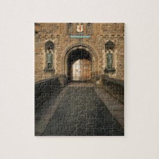 Edinburgh-Schlosseingang, Edinburgh, Schottland Puzzle