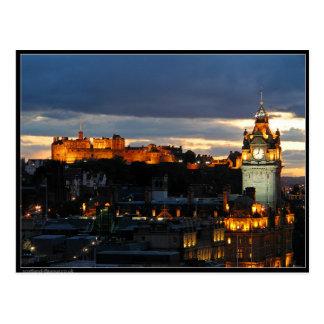 Edinburgh Schottland Postkarte