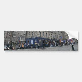 Edinburghs die das Enden-Taverne der Welt Autoaufkleber
