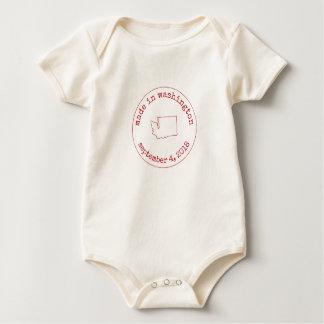 Editable gemacht in Washington-Briefmarke der Baby Strampler