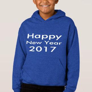 Editable guten Rutsch ins Neue Jahr 2017 Text der Hoodie