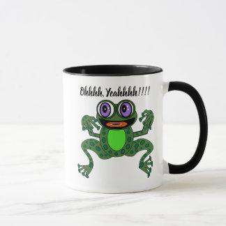 Editable Purps die üppiger Frosch-kombinierte Tasse