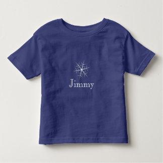 Editable T - Shirt Kleinkind der dunkelblauen
