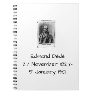 Edmond Dédé Notizblock