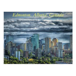 Edmonton, Alberta in Kanada Postkarte