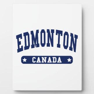 Edmonton Fotoplatte