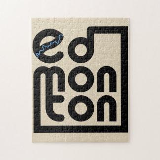 Edmonton-Kasten-Puzzlespiel Puzzle