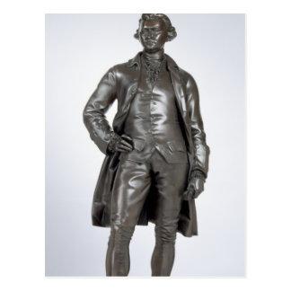 Edmund Burke (1729-97) 1865 (Bronze) Postkarte