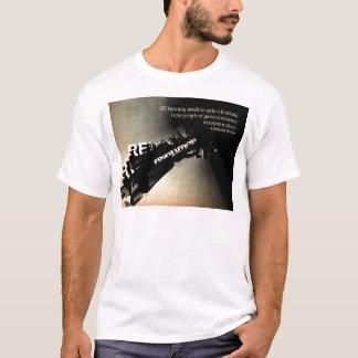 Edmund Burke-Zitat T-Shirt