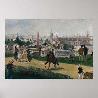 Edouard Manet - Ansicht der universellen Poster