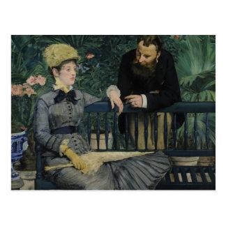 Edouard Manet - im Konservatorium Postkarte