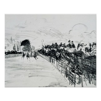 Edouard Manet - Les Kurse Poster