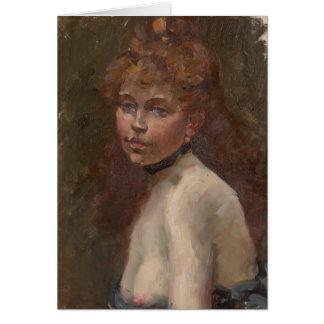 Edouard Manet Porträt of Mery Laurent Paris 1879 Karte