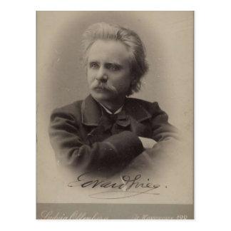 Edvard Grieg Postkarte