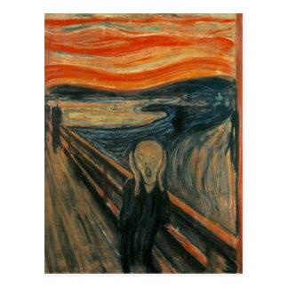 Edvard Munch - der Schrei Postkarte