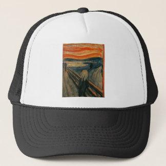 Edvard Munch - der Schrei Truckerkappe