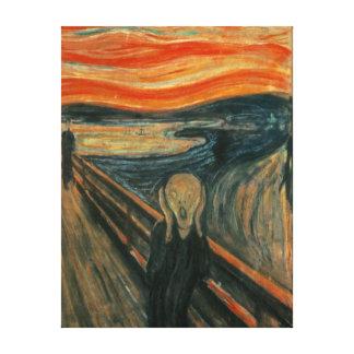 Edvard Munch die Schrei-Malerei Leinwanddruck