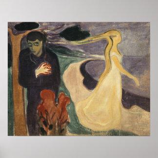 Edvard Munch - Trennung Poster
