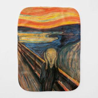 Edvard Munchs der Schrei Baby Spucktuch