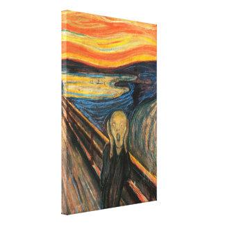 Edvard Munchs der Schrei Leinwanddruck
