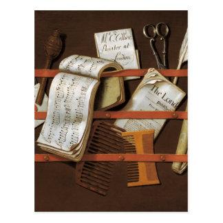Edward-Bergmann - Buchstabegestell Postkarten