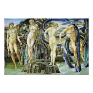Edward Burne-Jones Perseus und Andromeda Poster
