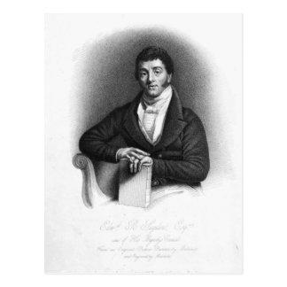 Edward Buttenshaw Sugden, 1. Baron St. Postkarte