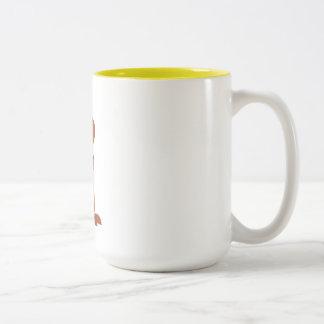 Edward die Mäusekaffeetasse Zweifarbige Tasse