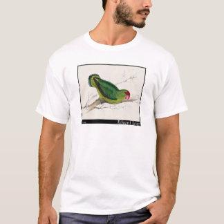 Edward Lear abyssinischer Parakeet T-Shirt