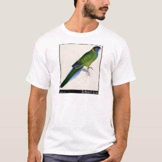 Edward Lear Bauers Parakeet T-Shirt