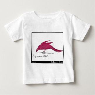 Edward Lear hochroter Vogel Baby T-shirt