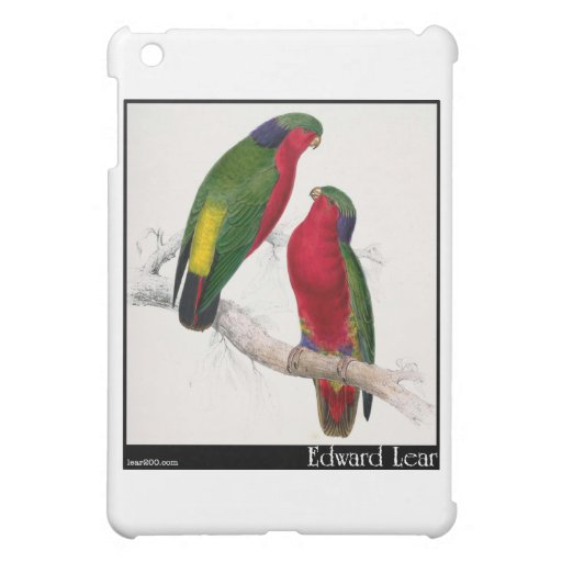 Edward Lear Kuhls Parakeet iPad Mini Hülle