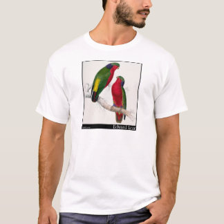 Edward Lear Kuhls Parakeet T-Shirt