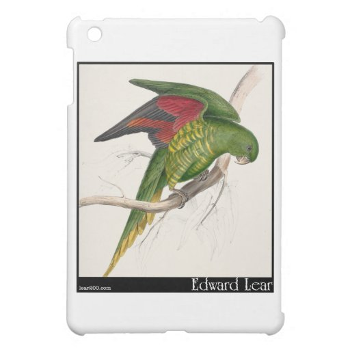 Edward Lear Matons Parakeet iPad Mini Hülle