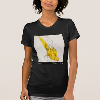 Edward Lear Rose-Beringter Parakeet T-Shirt