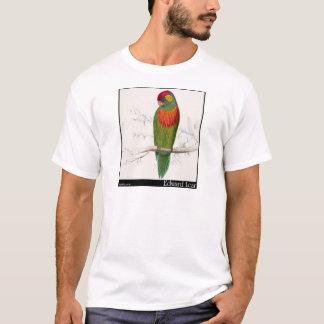 Edward Lear variierter Parakeet T-Shirt