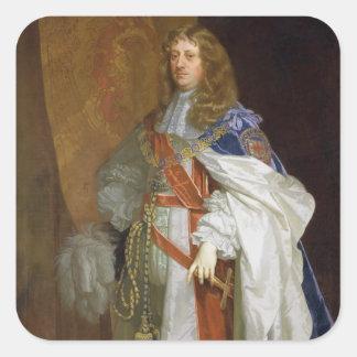 Edward Montagu, 1. Graf des Sandwiches, c.1660-65  Aufkleber