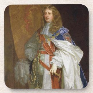 Edward Montagu, 1. Graf des Sandwiches, c.1660-65  Untersetzer