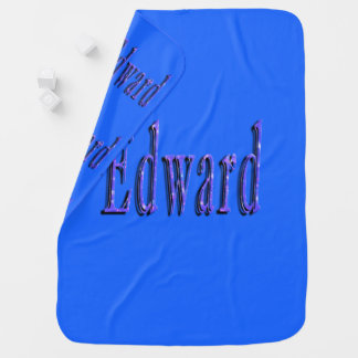 Edward, Name, Logo, Baby-blaue Decke