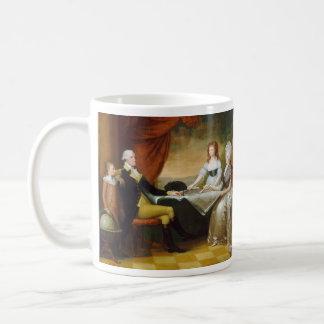 Edward-Savage die Washington-Familie Kaffeetasse