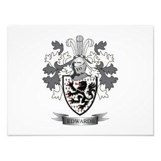 Edwards Familienwappen-Wappen Fotodruck