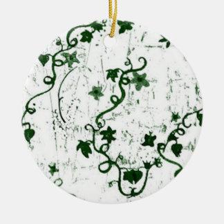 Efeu abstrakt keramik ornament