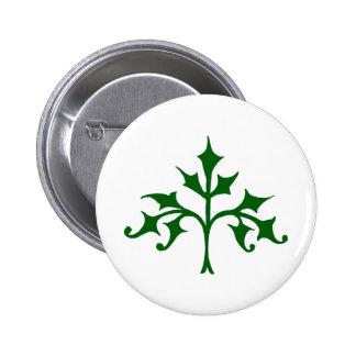 Efeu-Baum Runder Button 5,7 Cm