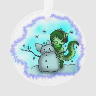 Efeu-Schnee Ornament