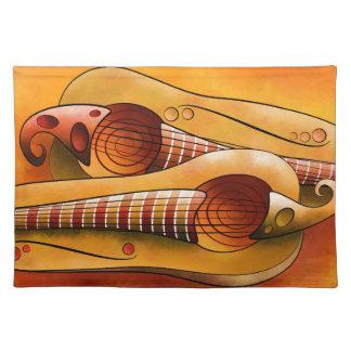 Efheros V1 - squashguitar Stofftischset